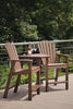 Image of Seaside Casual Shellback Dining or Bar Chair Tête-à-Tête (032) - [price] | The Adirondack Market