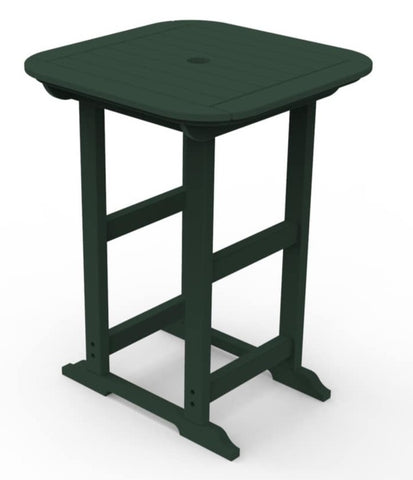 "Seaside Casual Portsmouth 30""x 30"" Bar Table — Please call (970) 235-1495 for estimated delivery dates"