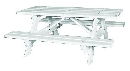 Seaside Casual Traditional Picnic Table (043)