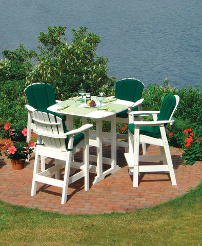 Seaside Casual Adirondack Shellback Bar Chair - [price] | The Adirondack Market
