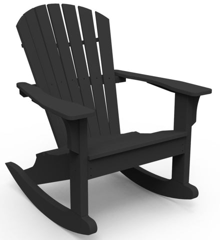 Seaside Casual Adirondack Shellback Rocker - [price] | The Adirondack Market