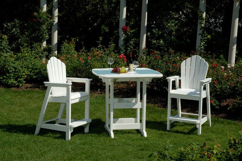 Seaside Casual Classic Adirondack Bar Chair - [price] | The Adirondack Market