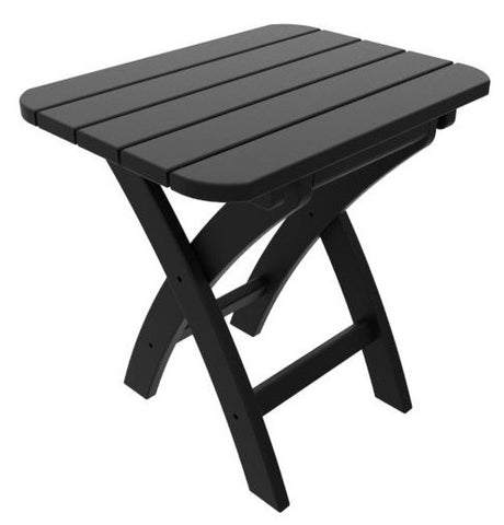 Coastline Casual Harbor View Folding Side Table (321) - [price] | The Adirondack Market