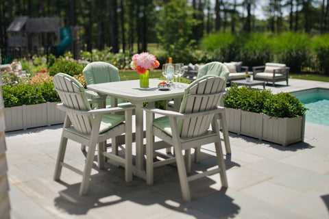"Seaside Casual Portsmouth 42""x 42"" Balcony Table - [price] 