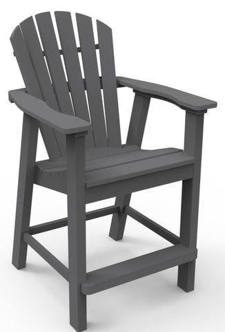 Seaside Casual Adirondack Shellback Balcony Chair - [price] | The Adirondack Market
