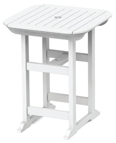 "Seaside Casual Portsmouth 30""x 30"" Balcony Table - [price] 