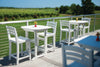 "Image of Seaside Casual Portsmouth 30""x 30"" Balcony Table - [price] 