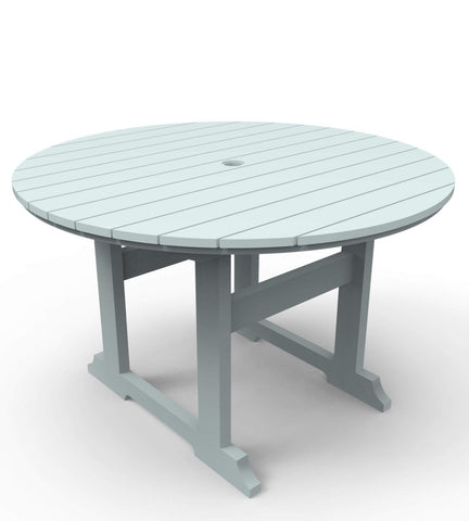 "Seaside Casual Salem 48"" Round Dining Table — Please call (970) 235-1495 for estimated delivery dates"