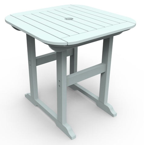"Seaside Casual Portsmouth 30""x 30"" Dining Table — Please call (970) 235-1495 for estimated delivery dates"