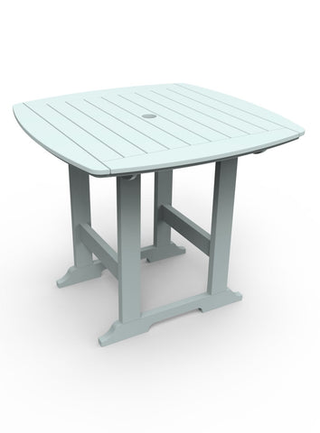 "Seaside Casual Portsmouth 42""x 42"" Balcony Table — Extended lead times — Please call (970) 235-1495 for estimated delivery dates"