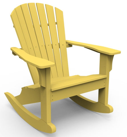 Seaside Casual Shellback Adirondack Rocker — Please call (970) 235-1495 for estimated delivery dates