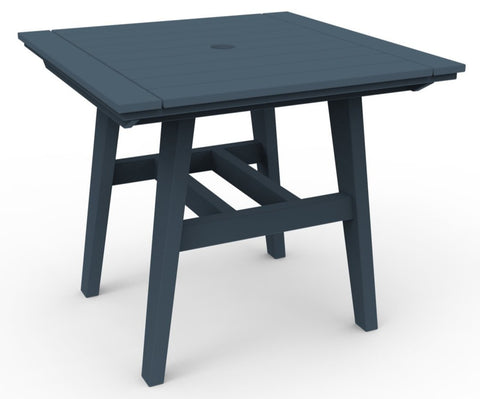 "Seaside Casual MADirondack 33"" x 33"" Dining Table — Please call (970) 235-1495 for estimated delivery dates"
