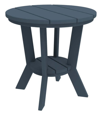 Seaside Casual  MADirondack 18-inch Round Side Table — Order Now for October Delivery