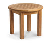 "Image of Douglas Nance Classic 21"" Round Adirondack Side Table - [price] 