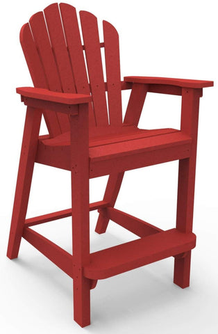 Seaside Casual Classic Adirondack Bar Chair (061) - [price] | The Adirondack Market