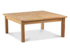 "Image of Douglas Nance Classic 42"" Square Indonesian Teak Conversation Table - [price] 