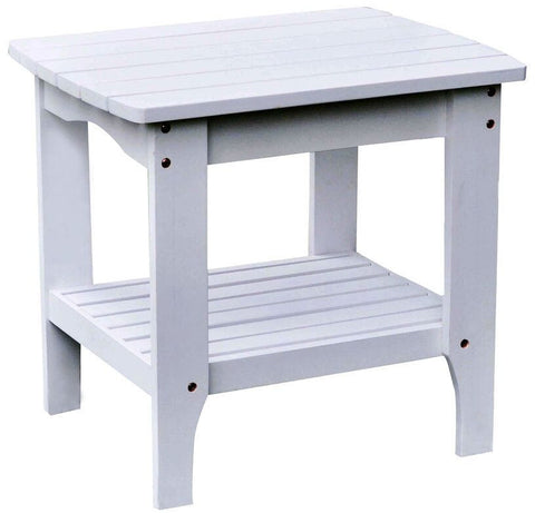 Shine Company Large Rectangular Side Table (4103) — Order now for October Delivery!