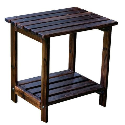 Shine Company Small Rectangular Side Table (4104) — Order now for October Delivery!
