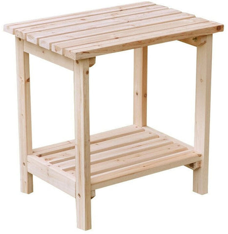 Shine Company Small Rectangular Side Table (4104) - [price] | The Adirondack Market