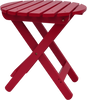 Image of Shine Company Adirondack Round Folding Table (4108) - [price] | The Adirondack Market