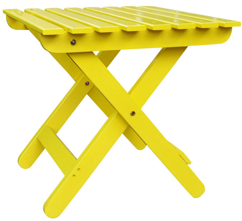 ... Shine Company Adirondack Square Folding Table (4109)   The Adirondack  Market ...
