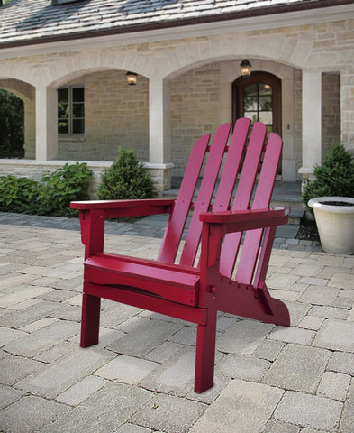 Shine Company Marina Folding Adirondack Chair (4658) - [price] | The Adirondack Market