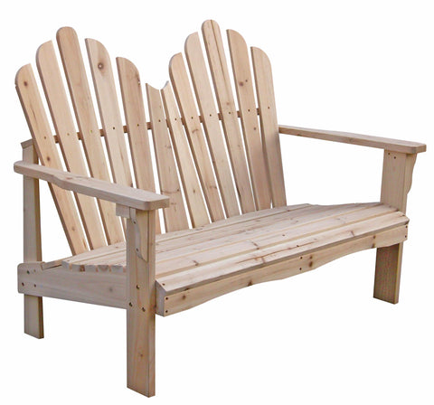 Shine Company Westport Adirondack Loveseat (4681) — Order now for October Delivery!