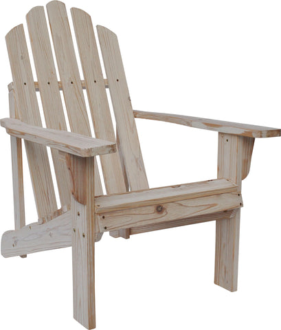 Shine Company Rustic Adirondack Chair (5618) - [price] | The Adirondack Market