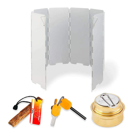 Accessory Kit for Solo Stove Lite and Titan Camp Stoves