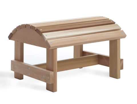 All Things Cedar Cedar Muskoka Ottoman - [price] | The Adirondack Market