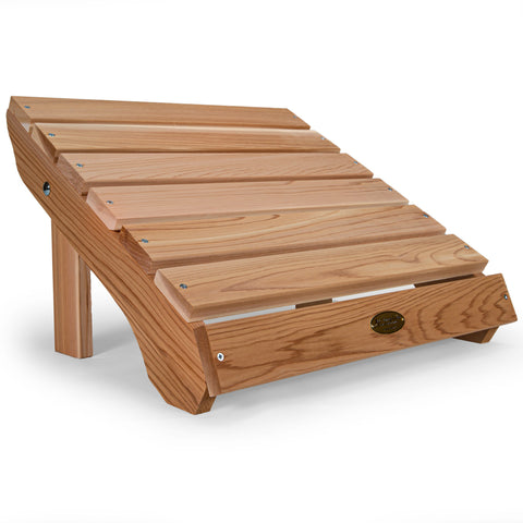 All Things Cedar Classic Adirondack Ottoman (AO21) — Order now for immediate shipping!