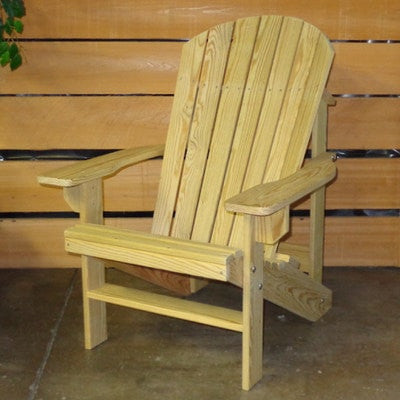 Hershy Way Treated Wood Outdoor Adirondack Chair - [price] | The Adirondack Market