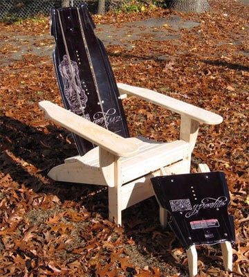 Adirondack Wakeboard Chair with Ottoman by SkiChair - [price] | The Adirondack Market