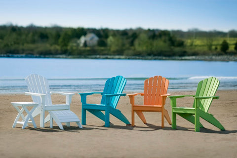 Coastline Casual Harbor View Adirondack Chair (301) — Extended Delivery Times — Please call (970) 235-1495 for estimated delivery dates
