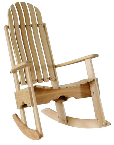 Hershy Way Cypress Outdoor Rocking Chair - [price] | The Adirondack Market