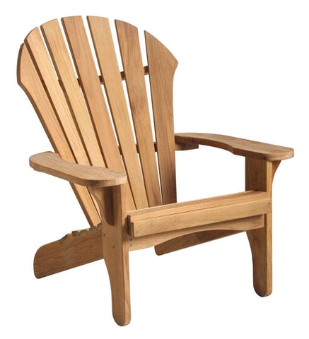 Douglas Nance Indonesian Teak Atlantic Adirondack Chair