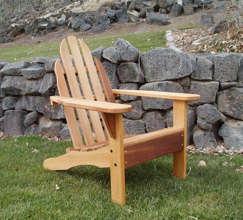 Wood Country Cedar Idaho Adirondack Chair - [price] | The Adirondack Market
