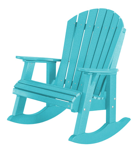 Little Cottage Company Heritage High-Back Adirondack Rocker - [price] | The Adirondack Market