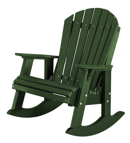 Wildridge Heritage High-Back Adirondack Rocker - [price] | The Adirondack Market