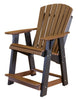 Image of Little Cottage Company Heritage High Adirondack Chair - [price] | The Adirondack Market