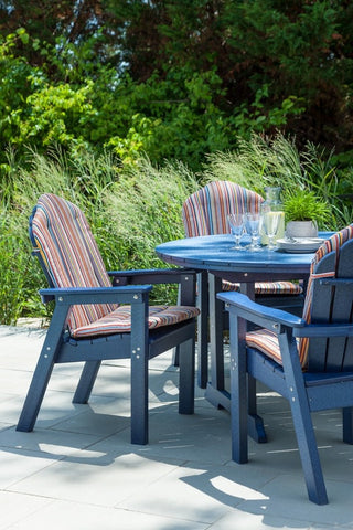 Seaside Casual Classic Adirondack Dining Chair — Order Now for October Delivery