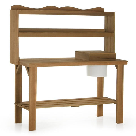 Wood Country Cedar Master Gardener's Bench - [price] | The Adirondack Market