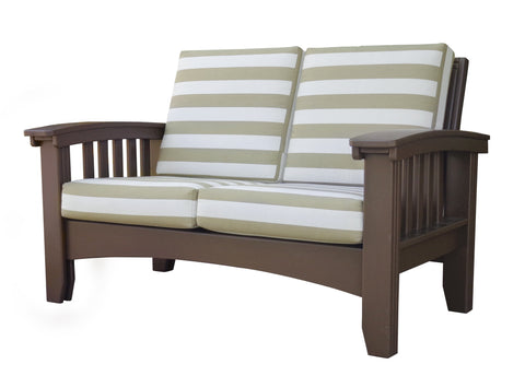 Hershy Way Three-Piece Amish Deep Seating Set Featuring Sunbrella Cushions