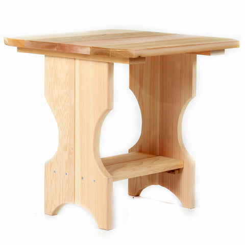 All Things Cedar Adirondack Magazine Table - [price] | The Adirondack Market