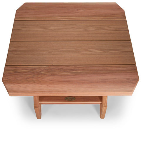 All Things Cedar Adirondack Magazine Table (ST24) — Order now for immediate shipping!