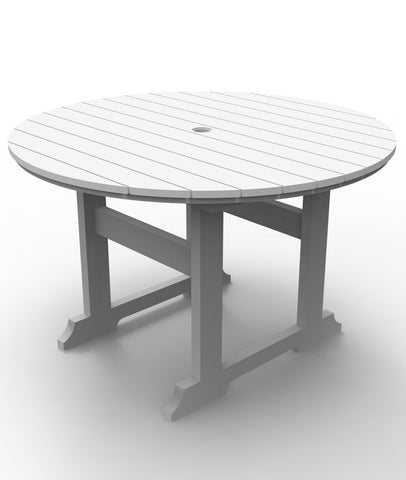 Seaside Casual Salem 48-inch Dining Table - [price] | The Adirondack Market