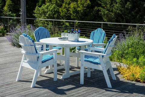 Seaside Casual Cushions Shellback Adirondack Chair, Love Seat, and Rocker — Order Now for October Delivery