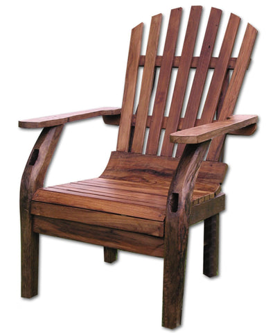 Groovystuff Reclaimed Teak Adirondack Chair - [price] | The Adirondack Market