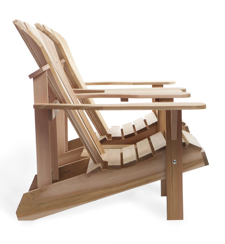 All Things Cedar Athena Side-by-Side Tète-a-Tète - [price] | The Adirondack Market