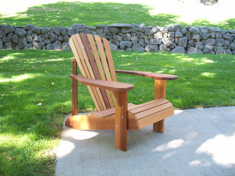 Wood Country Cedar T&L Adirondack Chair - [price] | The Adirondack Market